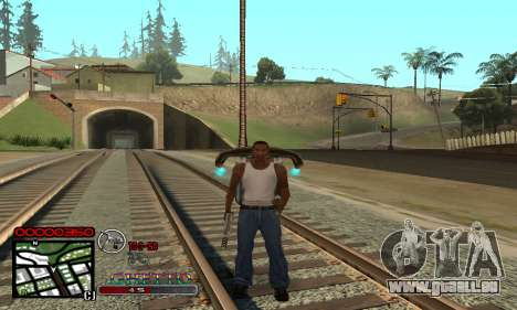 C-HUD Getto Jonka pour GTA San Andreas