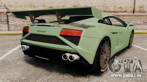 Lamborghini Gallardo 2013 v2.0 pour GTA 4 Vue arrière de la gauche