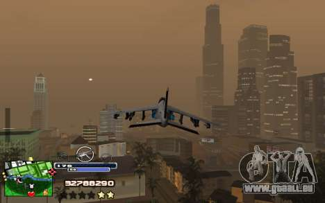 C-HUD Into pour GTA San Andreas