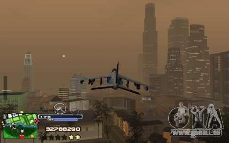 C-HUD Into für GTA San Andreas