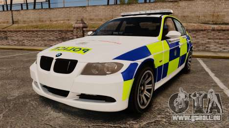 BMW 330i Hampshire Police [ELS] pour GTA 4