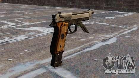 Auto Beretta M93R für GTA 4 Sekunden Bildschirm