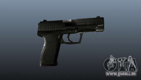 Pistolet semi-automatique Taurus 24-7 pour GTA 4 troisième écran
