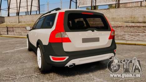 Volvo XC70 Stock pour GTA 4 Vue arrière de la gauche