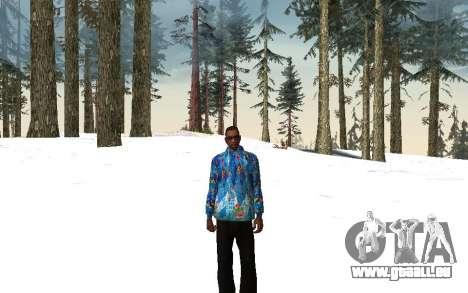 Veste de Sochi 2014 pour GTA San Andreas