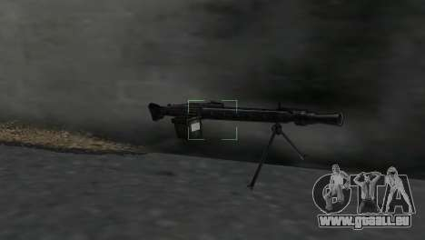 Maschinengewehr MG-3 für GTA Vice City zweiten Screenshot
