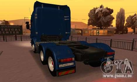 Scania Topline R730 V8 pour GTA San Andreas laissé vue