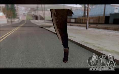 Machette pour GTA San Andreas deuxième écran
