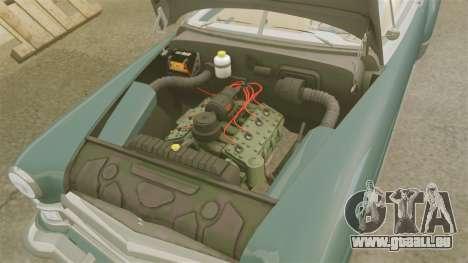 Cadillac Series 62 1949 pour GTA 4 est une vue de l'intérieur
