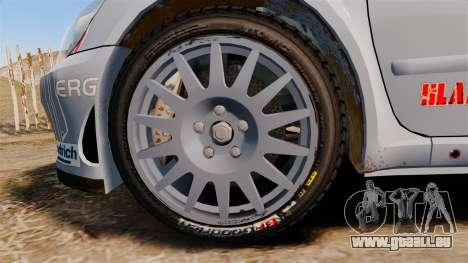 Peugeot 307 WRC pour GTA 4 Vue arrière