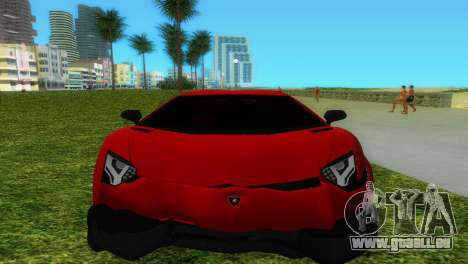 Lamborghini Aventador LP720-4 50th Anniversario für GTA Vice City Motor