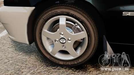 Daewoo Lanos Style 2001 Limited version für GTA 4 Rückansicht