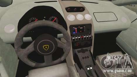 Lamborghini Gallardo 2013 v2.0 für GTA 4 Innenansicht