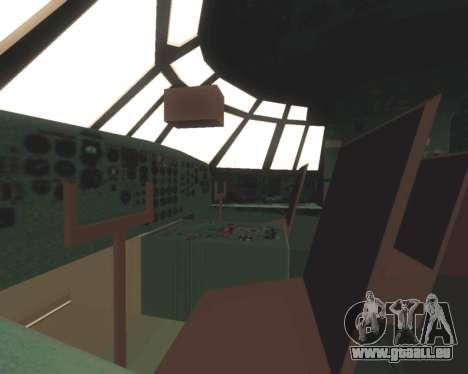 Il-76td EMERCOM de Russie pour GTA San Andreas vue de dessus
