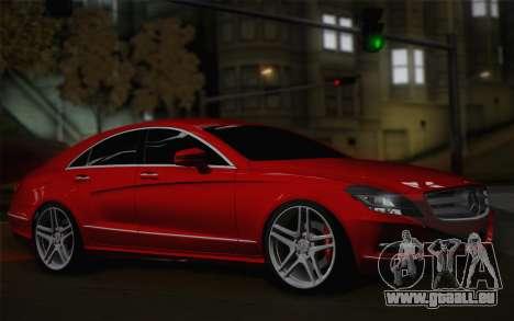 Mercedes-Benz CLS 63 AMG 2012 Fixed für GTA San Andreas linke Ansicht