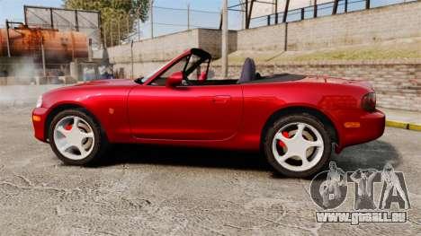 Mazda (Miata) MX-5 pour GTA 4 est une gauche