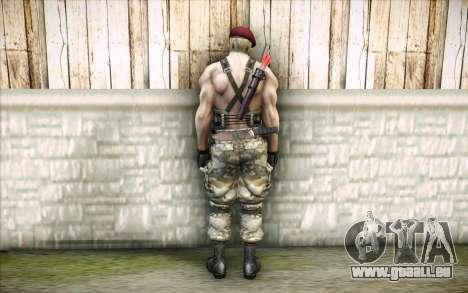 Jack Krauser mercenaire pour GTA San Andreas deuxième écran