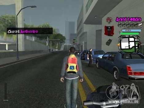 HUD pour GTA San Andreas douzième écran