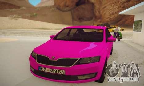 Skoda Rapid 2014 für GTA San Andreas