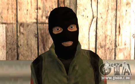 Terroristes chinois pour GTA San Andreas troisième écran