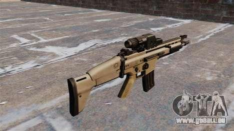 Fusil d'assaut FN SCAR pour GTA 4 secondes d'écran