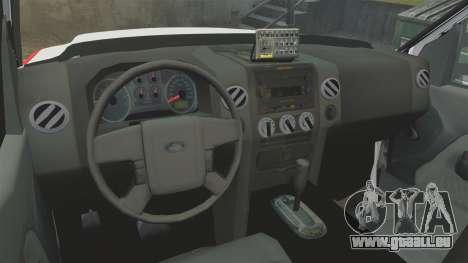 Ford F-350 FDNY Ambulance [ELS] pour GTA 4 Vue arrière