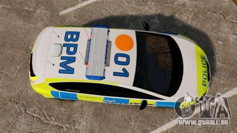 Seat Cupra Metropolitan Police [ELS] für GTA 4 rechte Ansicht