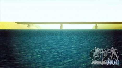 Eau HD pour GTA San Andreas deuxième écran