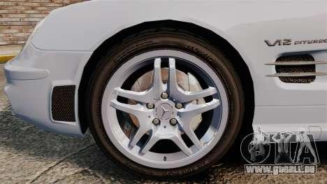 Mercedes-Benz SL65 AMG pour GTA 4 Vue arrière