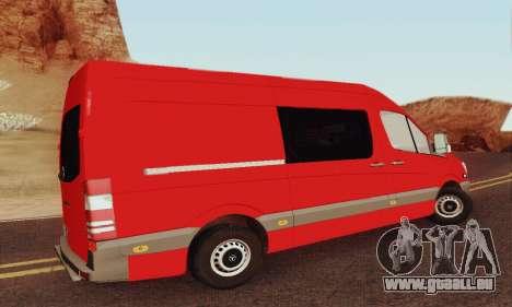 Mersedes-Benz Sprinter für GTA San Andreas Innenansicht