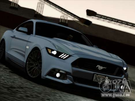 Ford Mustang GT 2015 v2 pour GTA San Andreas