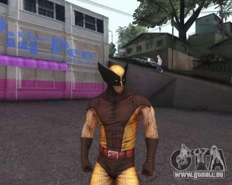 X-men Origins: Wolverine [Skins Pack] pour GTA San Andreas