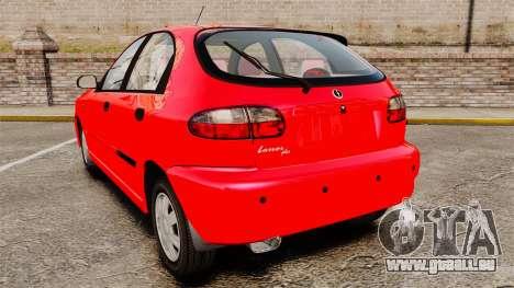 FSO Lanos Plus 2007 Limited Version für GTA 4 hinten links Ansicht
