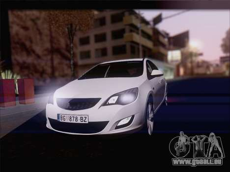 Opel Astra J 2011 pour GTA San Andreas
