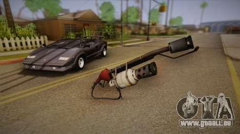 Flammenwerfer aus Team Fortress für GTA San Andreas