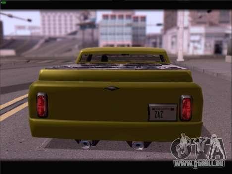 New Slamvan pour GTA San Andreas vue de côté