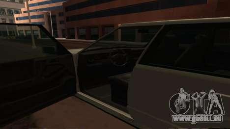 Baller GTA 5 pour GTA San Andreas vue de dessus