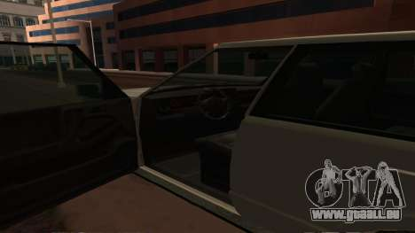 Baller GTA 5 für GTA San Andreas obere Ansicht