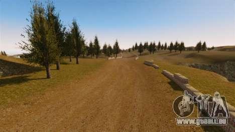 Cliffside emplacement Rallye pour GTA 4 quatrième écran