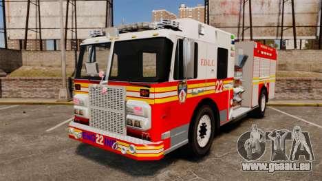 Firetruck FDLC [ELS] pour GTA 4
