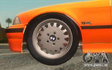 BMW 325i E36 Convertible 1996 pour GTA San Andreas vue de droite