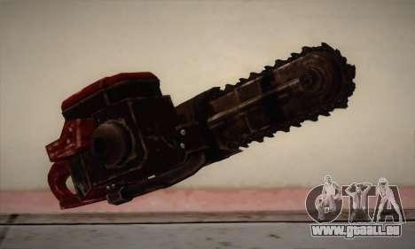 Nouvelle tronçonneuse pour GTA San Andreas