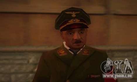 Adolf Hitler pour GTA San Andreas troisième écran