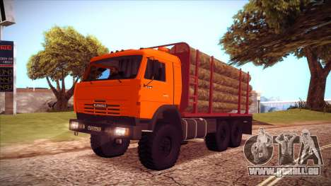 Transporteur de bois 54115 KAMAZ pour GTA San Andreas