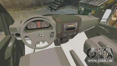 Mercedes-Benz Sprinter [ELS] London Ambulance für GTA 4 Rückansicht