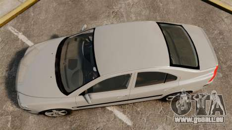 Volvo S60R pour GTA 4 est un droit