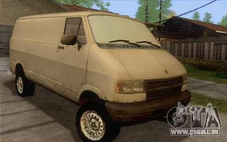Dodge RAM Van 1500 für GTA San Andreas