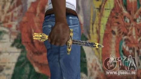 Die Klinge des Leids von TES 4 für GTA San Andreas dritten Screenshot