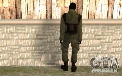 Terroristes chinois pour GTA San Andreas deuxième écran
