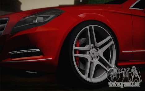 Mercedes-Benz CLS 63 AMG 2012 Fixed für GTA San Andreas